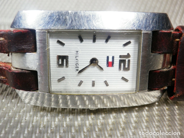 ORIGINAL TOMY HILFIGER DE DAMA SUMERGIBLE 30M ACERO INOXFUNCIONA LOTE WATCHES (Relojes - Pie Carga Manual)