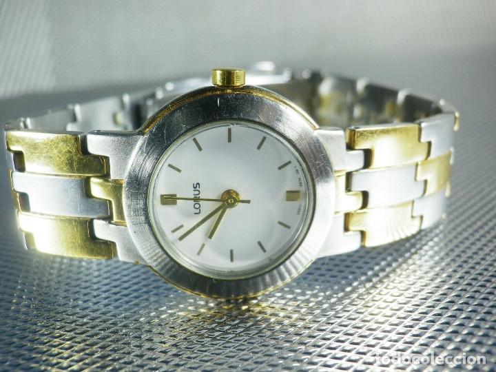 Relojes de pie: BONITO RELOJ LORUS FABRICADO POR SEIKO ACERO INOX EXCELENTE ESTADO LOTE WATCHES - Foto 2 - 173908828