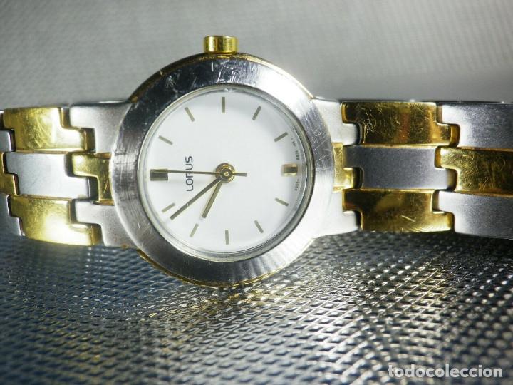 Relojes de pie: BONITO RELOJ LORUS FABRICADO POR SEIKO ACERO INOX EXCELENTE ESTADO LOTE WATCHES - Foto 4 - 173908828