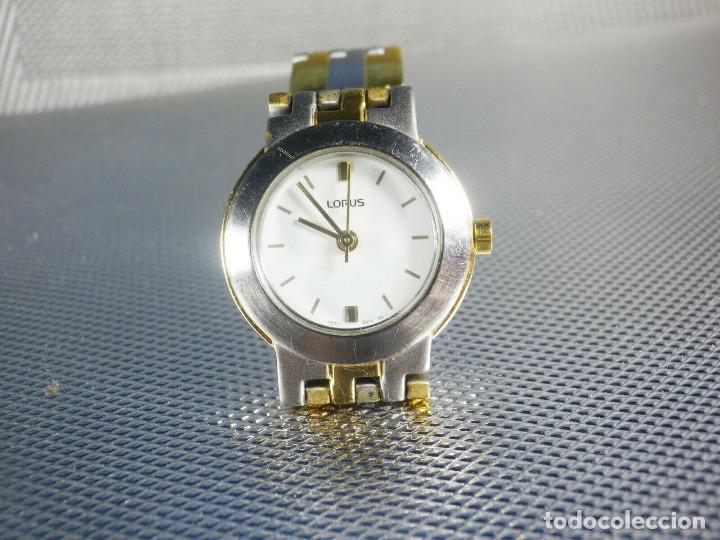 Relojes de pie: BONITO RELOJ LORUS FABRICADO POR SEIKO ACERO INOX EXCELENTE ESTADO LOTE WATCHES - Foto 8 - 173908828