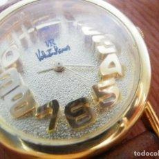 Relojes de pie: PRECIOSO RELOJ AÑOS 90 FIN STOK INUSUAL Y PRECIOSO DISEÑO FUNCIONA LOTE WATCHES. Lote 173996832