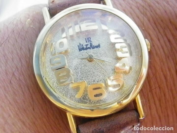 Relojes de pie: PRECIOSO RELOJ AÑOS 90 FIN STOK INUSUAL Y PRECIOSO DISEÑO FUNCIONA LOTE WATCHES - Foto 2 - 173996832