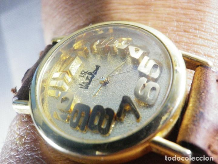 Relojes de pie: PRECIOSO RELOJ AÑOS 90 FIN STOK INUSUAL Y PRECIOSO DISEÑO FUNCIONA LOTE WATCHES - Foto 3 - 173996832