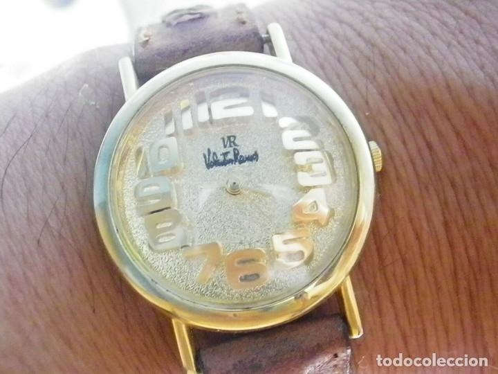 Relojes de pie: PRECIOSO RELOJ AÑOS 90 FIN STOK INUSUAL Y PRECIOSO DISEÑO FUNCIONA LOTE WATCHES - Foto 7 - 173996832