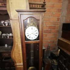 Relojes de pie: ANTIGUO RELOJ MOREZ CON MUEBLE SIGLO XIX. Lote 174414830