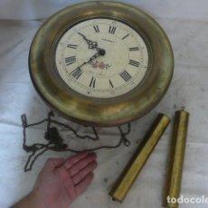 Relojes de pie: ANTIGUO RELOJ, MARCA RADIANT BIM BAM, ORIGINAL. . Lote 175942622