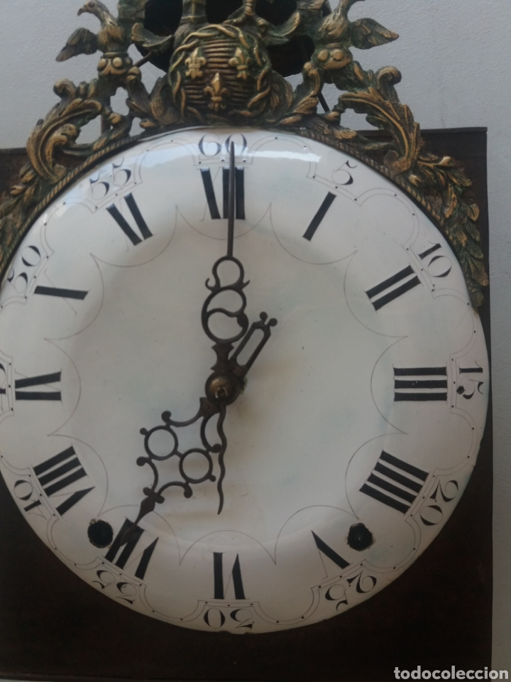 Relojes de pie: Reloj morez Luis xv - Foto 2 - 176265378