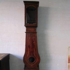Relojes de pie: CAJA PARA RELOJ DE PARED - MOREZ - MADERA DE PINO - PINTADA A MANO - S. XIX. Lote 176834809