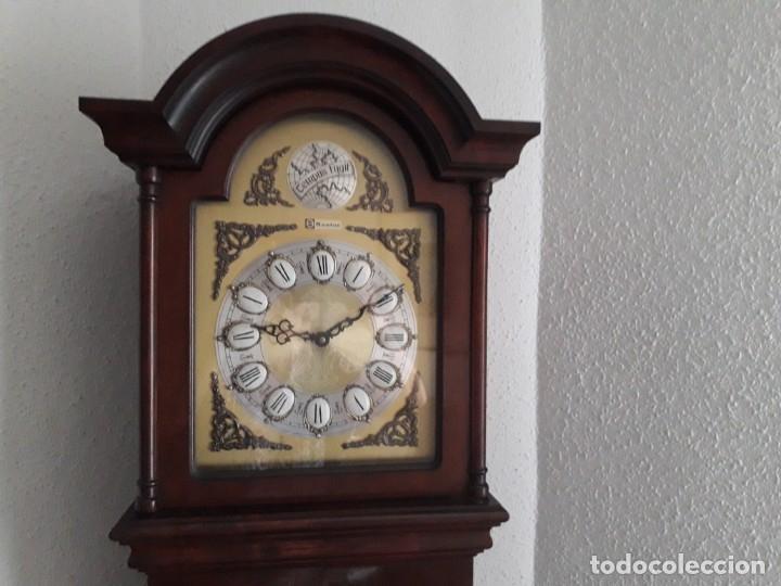 Relojes de pie: Reloj Tempus Fugit de caoba - Foto 2 - 176858600