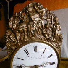 Relojes de pie: ANTIGUO RELOJ MOREZ COMTOISE.. Lote 177181792