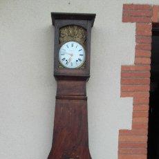 Relojes de pie: RELOJ MOREZ DEL SIGLO XIX, COMPLETO, FUNCIONA, POSIBLE VENTA POR SEPARADO, MAQUINARIA Y MUEBLE. Lote 177676799
