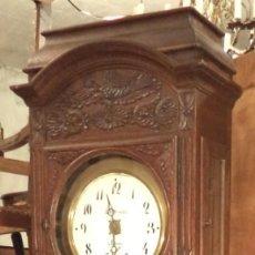 Relojes de pie: RELOJ DE PIE CON CAJA TALLADA, BÉLGICA, S.XIX. Lote 178265698