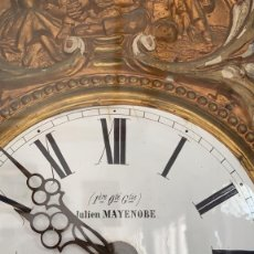 Relojes de pie: RELOJ DE PIE TIPO MOREZ DEL ARTISTA JULIEN MAYENOBE. Lote 178864937