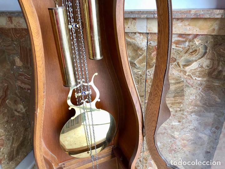 Relojes de pie: Reloj de pie Morez Morbier - Foto 4 - 179118951