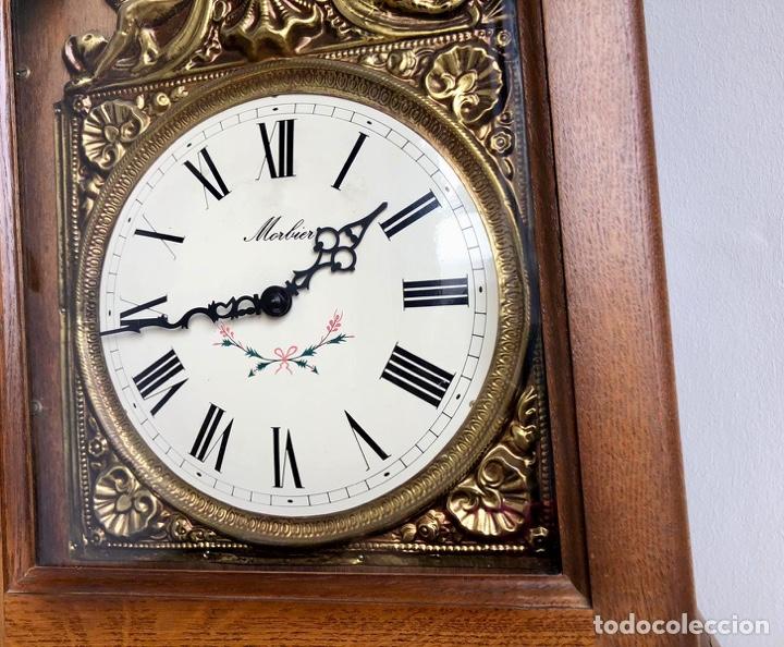 Relojes de pie: Reloj de pie Morez Morbier - Foto 5 - 179118951