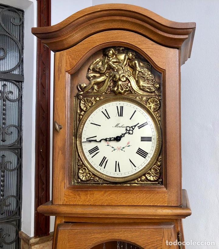 Relojes de pie: Reloj de pie Morez Morbier - Foto 6 - 179118951