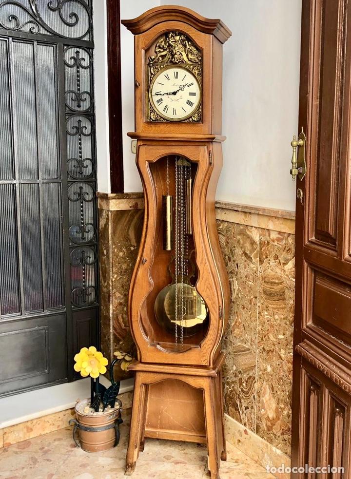 Relojes de pie: Reloj de pie Morez Morbier - Foto 7 - 179118951