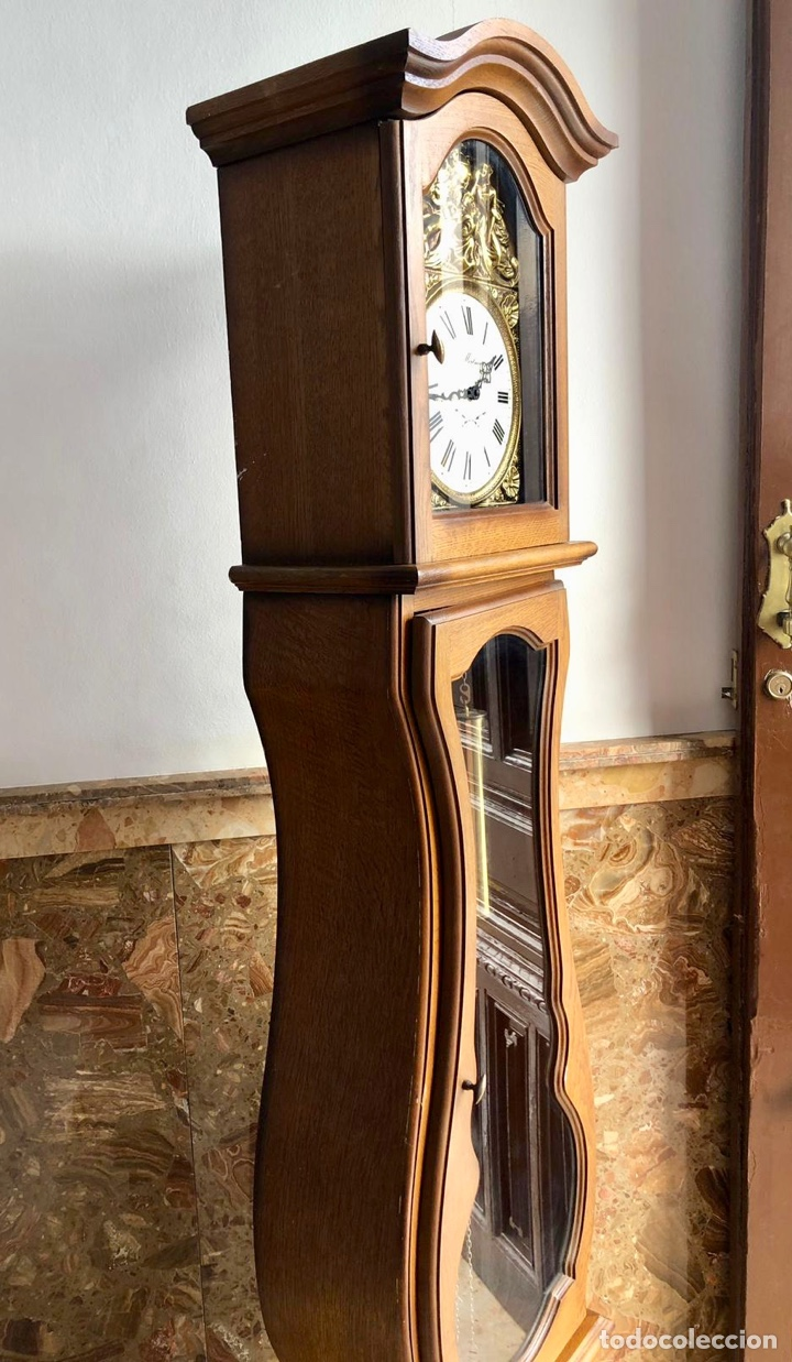 Relojes de pie: Reloj de pie Morez Morbier - Foto 10 - 179118951