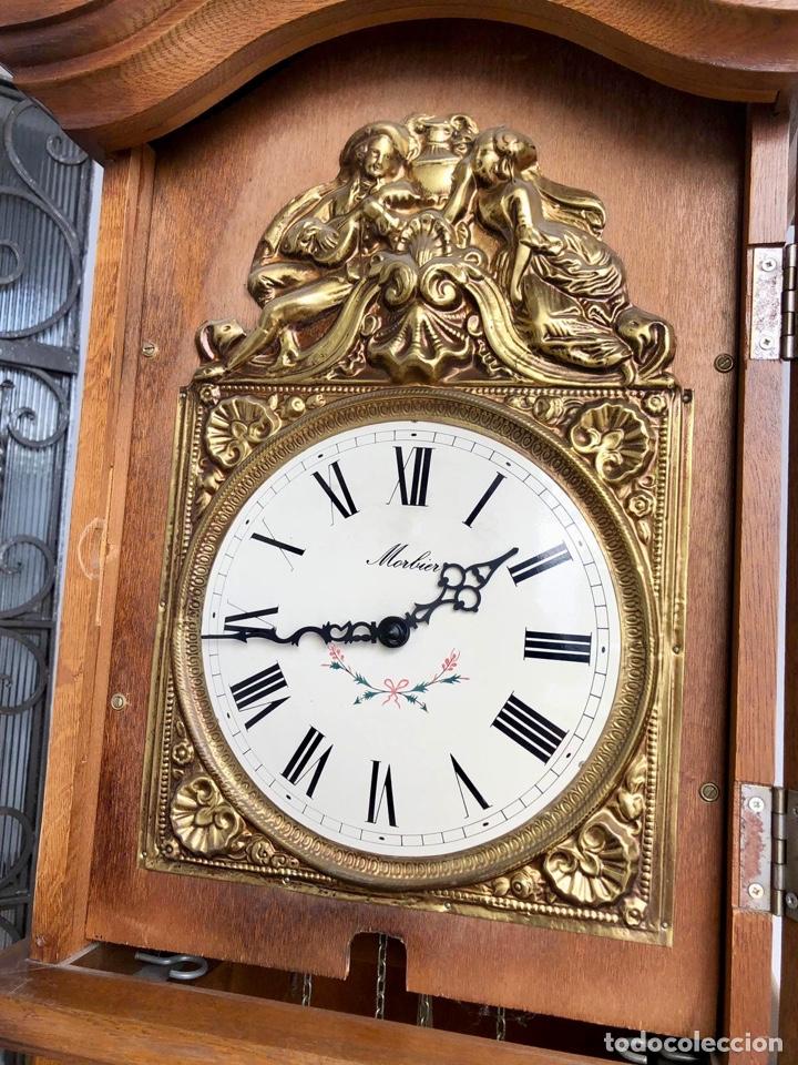 Relojes de pie: Reloj de pie Morez Morbier - Foto 13 - 179118951