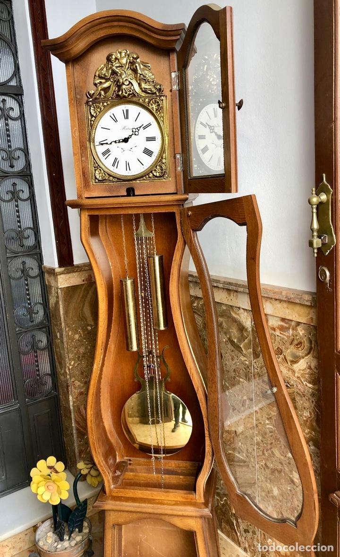 Relojes de pie: Reloj de pie Morez Morbier - Foto 16 - 179118951