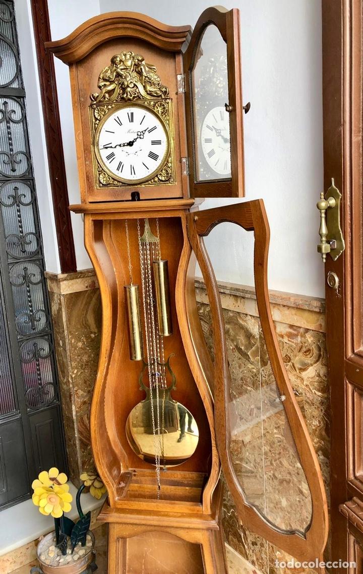 Relojes de pie: Reloj de pie Morez Morbier - Foto 17 - 179118951