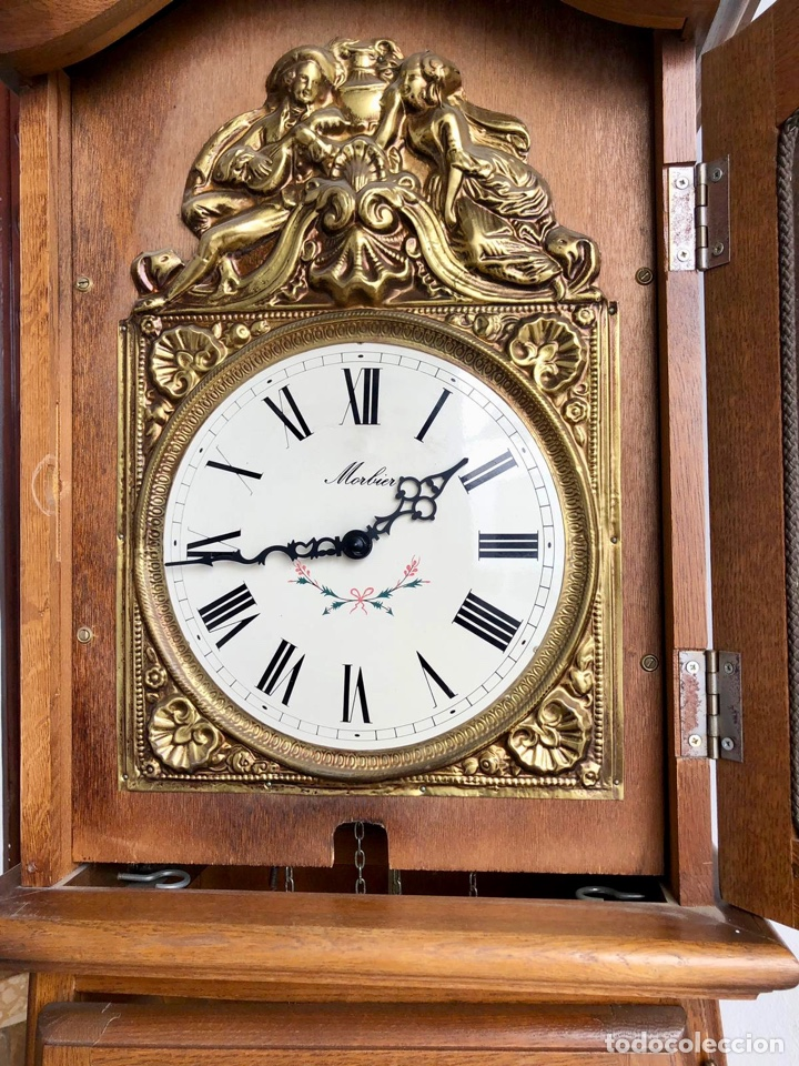Relojes de pie: Reloj de pie Morez Morbier - Foto 22 - 179118951