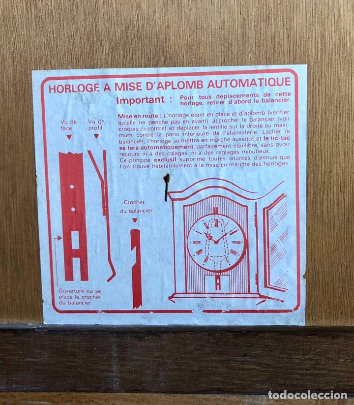 Relojes de pie: Reloj de pie Morez Morbier - Foto 25 - 179118951