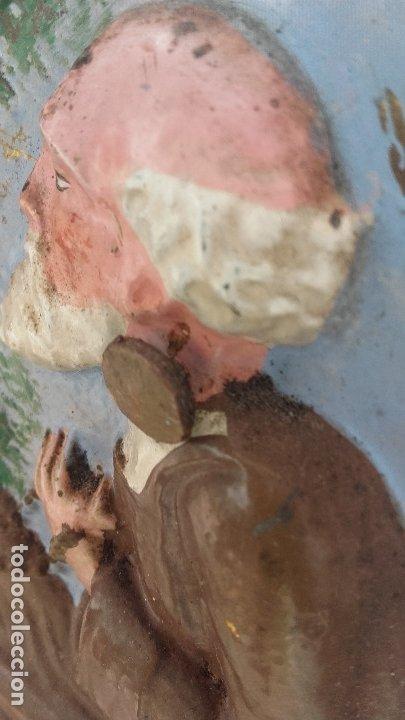 Relojes de pie: Reloj Morez de péndulo de monje con termómetro - Foto 2 - 181210436
