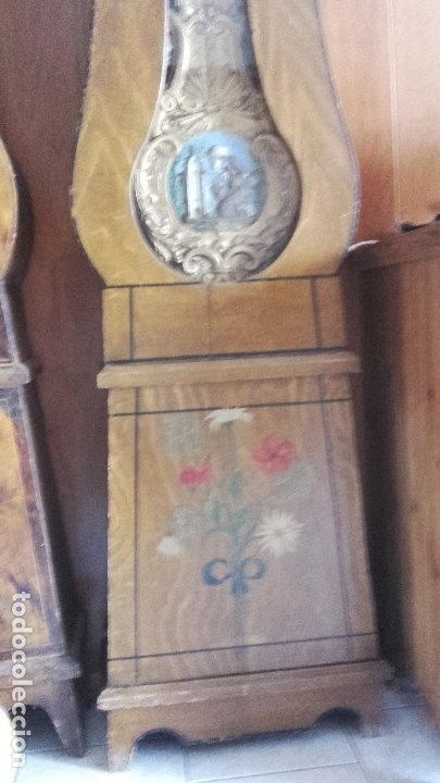 Relojes de pie: Reloj Morez de péndulo de monje con termómetro - Foto 4 - 181210436