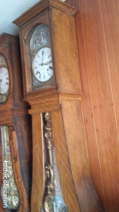 Relojes de pie: Reloj Morez de péndulo de monje con termómetro - Foto 6 - 181210436
