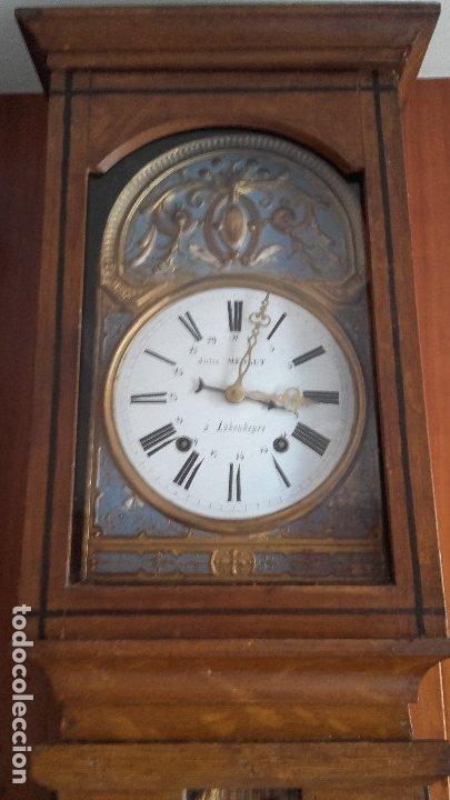 Relojes de pie: Reloj Morez de péndulo de monje con termómetro - Foto 7 - 181210436