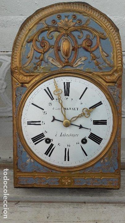 Relojes de pie: Reloj Morez de péndulo de monje con termómetro - Foto 9 - 181210436