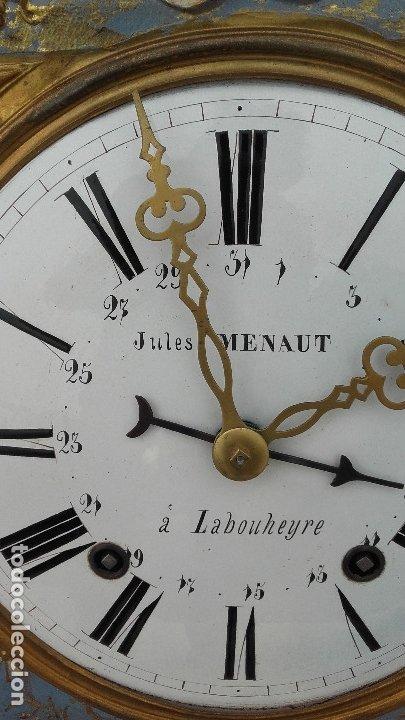 Relojes de pie: Reloj Morez de péndulo de monje con termómetro - Foto 10 - 181210436