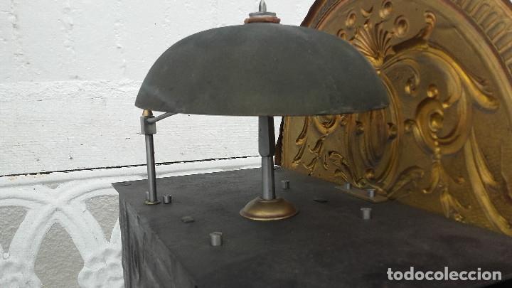 Relojes de pie: Reloj Morez de péndulo de monje con termómetro - Foto 11 - 181210436