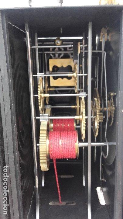 Relojes de pie: Reloj Morez de péndulo de monje con termómetro - Foto 12 - 181210436