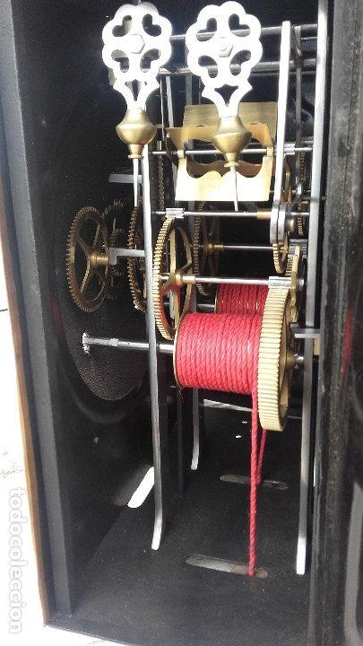 Relojes de pie: Reloj Morez de péndulo de monje con termómetro - Foto 13 - 181210436