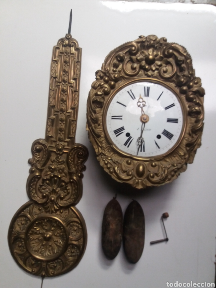 RELOJ MOREZ PENDULO REAL (Relojes - Pie Carga Manual)