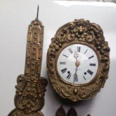 Relojes de pie: RELOJ MOREZ PENDULO REAL. Lote 181323610