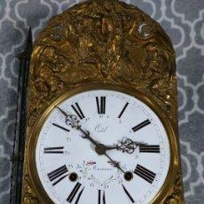 Relojes de pie: RELOJ MOREZ CON CALENDARIO. Lote 181391511