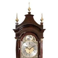 Relojes de pie: ANTIGUO RELOJ DE ANTESALA, DE PIE, CON CUERDAS MANUALES, DE ORIGEN FRANCÉS, Y FUNCIONANDO PERFECTAME. Lote 182080478