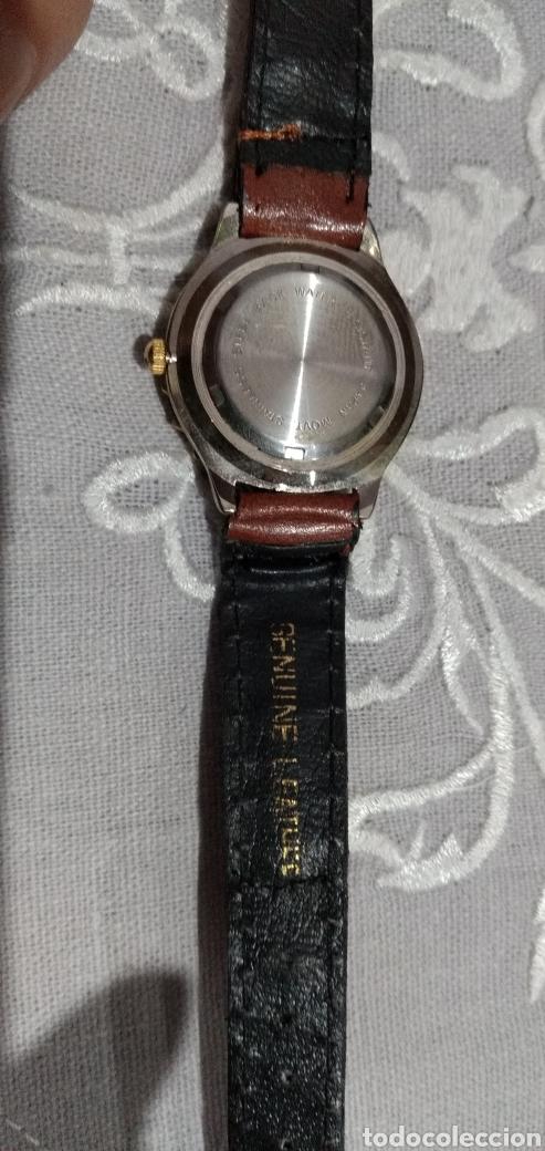 Relojes de pie: RELOJ ( MIYOTA MOVT. I. MOTO QUARTZ , CORREA DE PIEL , FUNCIONANDO ). - Foto 4 - 182711906