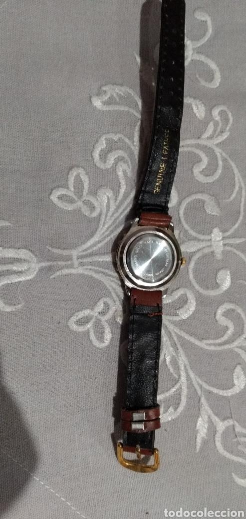 Relojes de pie: RELOJ ( MIYOTA MOVT. I. MOTO QUARTZ , CORREA DE PIEL , FUNCIONANDO ). - Foto 9 - 182711906