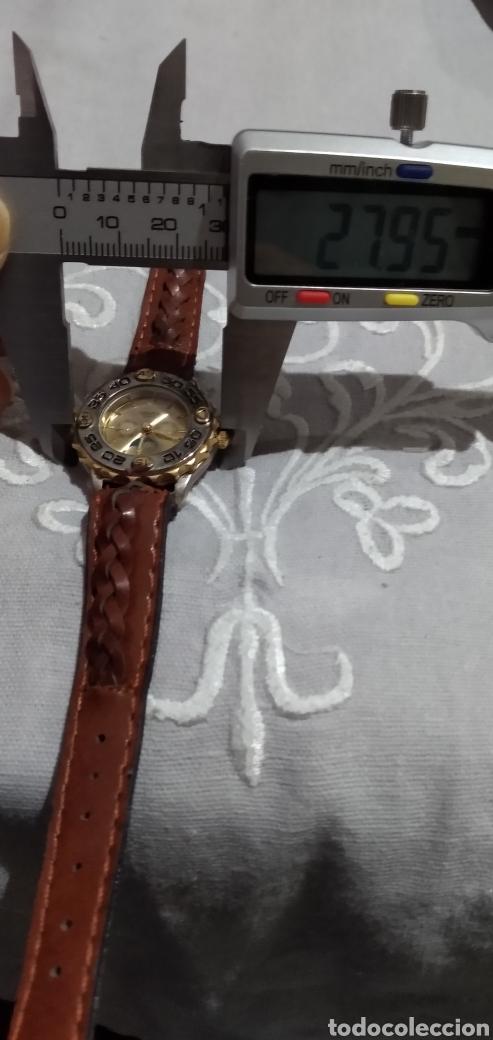 Relojes de pie: RELOJ ( MIYOTA MOVT. I. MOTO QUARTZ , CORREA DE PIEL , FUNCIONANDO ). - Foto 10 - 182711906