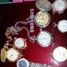 Relojes de pie: SON RELOGES DE VARIAS MARCAS TIME FORCE AY 2 UNIDADS. Lote 183421243