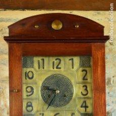 Relojes de pie: RELOJ DE PIE MODERNISTA. Lote 183743108