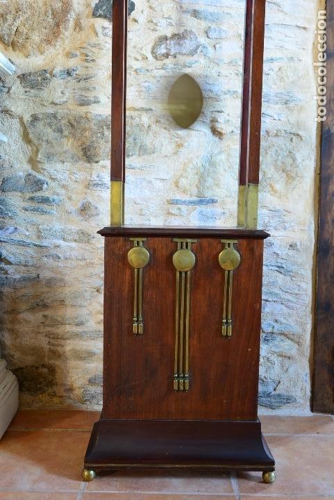 Relojes de pie: RELOJ DE PIE MODERNISTA - Foto 3 - 183743108