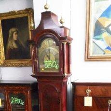 Relojes de pie: RELOJ DE ANTESALA DE MADERA CAOBA. Lote 184087292