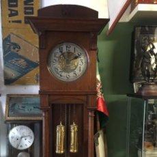 Relojes de pie: GRAN RELOJ MODERNISTA PRINCIPIOS SIGLO ROBLE MACIZO. Lote 185711956