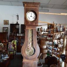Relojes de pie: RELOJ MORET CON CAJA PENDULO REAL FUNCIONANDO. Lote 186413591
