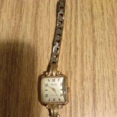 Relojes de pie: RELOJ SEÑORA CAUNY 15 RUBIS ANTIMAGNETIC. Lote 187369690
